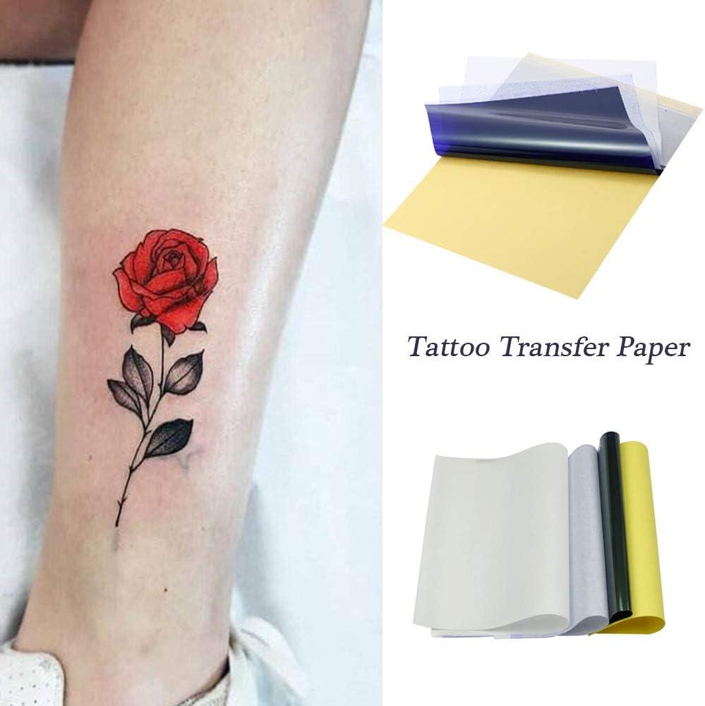 Amazon.com: MUTOCAR - Papel de transferencia de tatuajes ...