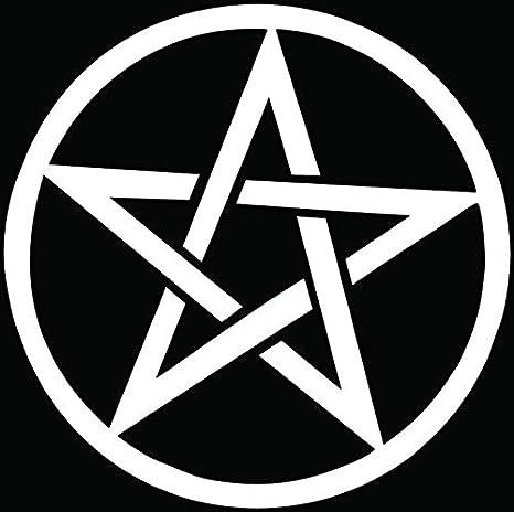Amazon Pentagram Satanic Symbol Car Truck Window Bumper Vinyl