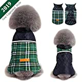 Dog Jacket Winter Dog Coat Warm Dog Sweater Waterproof Dog Clothes Reflective Dogs Apparel 2019 Dog Vest Reversible Dogs Cold Weather Coats for Small Medium Large Dog (S M L XL XXL)