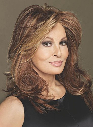 RL14/25 Honey Ginger Hand Tied Cap Lace Front Mono Top Spotlight Elite Wig by Raquel Welch (Ginger Sheer Wig)