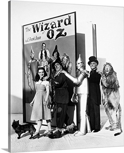 Bert Lahr Cowardly Lion Costume (Great BIG Canvas Gallery-Wrapped Canvas entitled Wizard Of Oz, 1939)