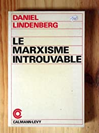 Book's Cover ofLe marxisme introuvable