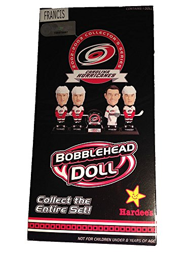 ron-francis-bobblehead-doll-carolina-hurricanes-2002-2003-collection-with-stand