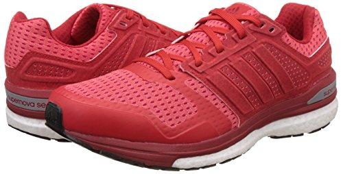 Chaussures Course Pour Supernova Rojpot De Sequence 8 rojint Negbas Rouge M Adidas Homme gxU0XZq88