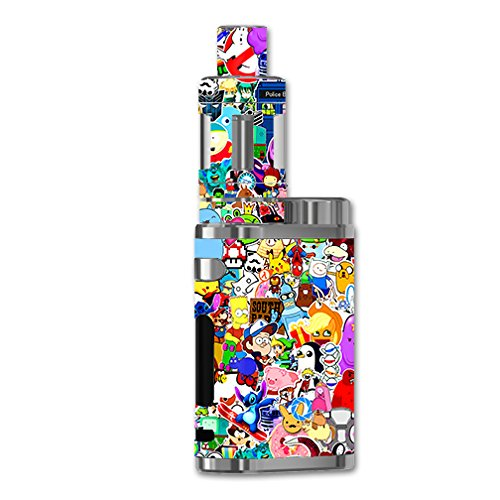 Skin Vinyl Decal for eLeaf iStick Pico 75w Vape Mod / with Grip-Guard Technology stickers skins cover/ Sticker collage,sticker pack