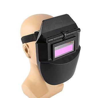 Pro Solar Casco de Soldadura con Oscurecimiento Automático Tig Máscara Soldador de Pulido Equipo de Protección