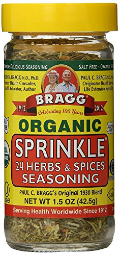 - Bragg Sprinkle Herb and Spice Seasoning, 1.5 oz
