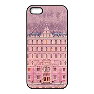 iPhone 5 5s Case,Cell Phone Case for iPhone 5 5s Black The Grand Budapest Hotel SG9857