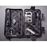 Smart Fun 10 in 1 Professional Survival Kit Outdoor Travel Hike Field Camp Emergency Kits