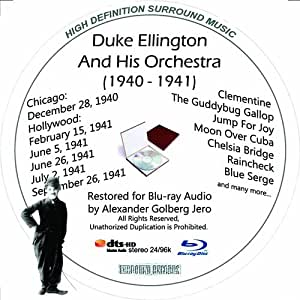 Duke Ellington (1945-1946) Restored for Blu-ray Audio Featuring Audio Disc Produced with Short Films by Charly Chaplin