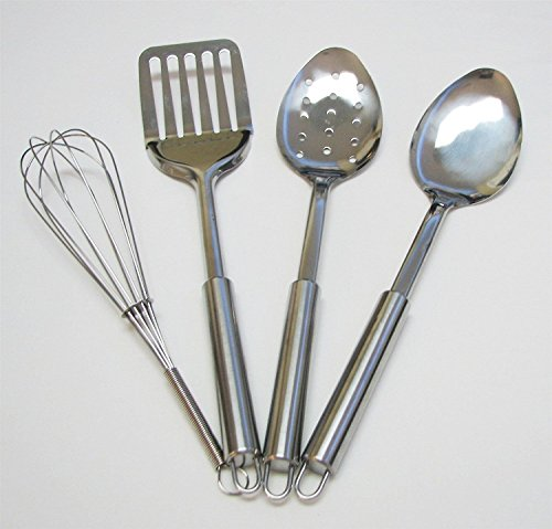 Stainless Steel Kitchen Utensil Tool Set 4-Piece from Kitchen Tool