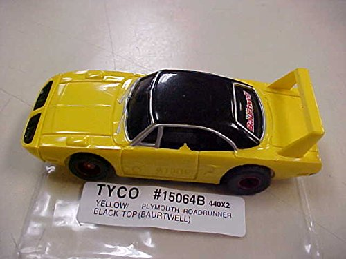 tyco-ho-scale-440x2-plymouth-roadrunner-slot-car-15064b
