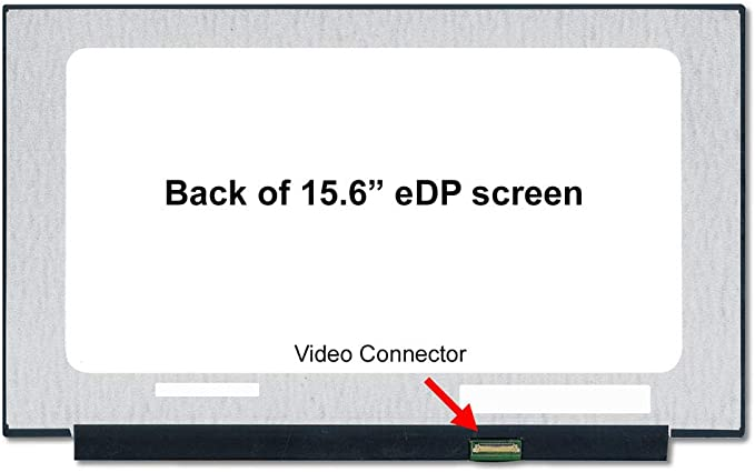 D1 BRIGHTFOCAL New Screen for LG P//N LP156WFC-SPD1 15.6 FHD WUXGA 1080P Slim IPS LED Screen Non-Touch Replacement LCD Screen Display SP