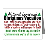 CafePress - Christmas Vacation Quotes - Blank Note Cards (Pack of 20) Glossy