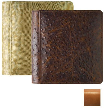 ROMA TAN #103 smooth grain leather 1-up 5x7 album by Raika - 5x7 from Raika®