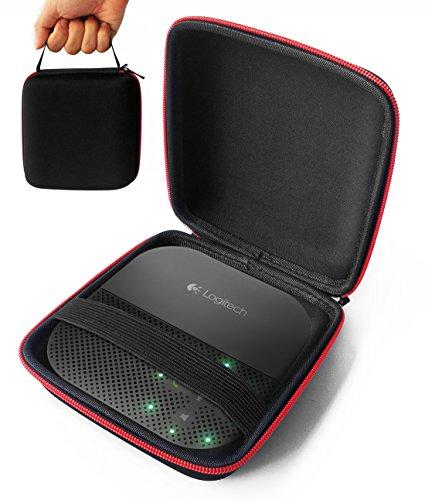 FitSand Hard Case Compatible for Logitech P710e Mobile Conferencing Speakerphone