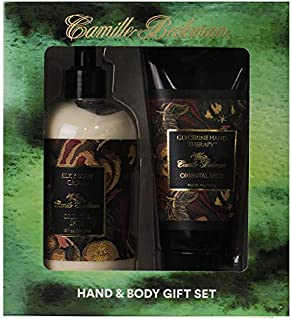 product image for Camille Beckman Hand and Body Duet Set, Silky Body and Glycerine Hand Cream, Oriental Spice