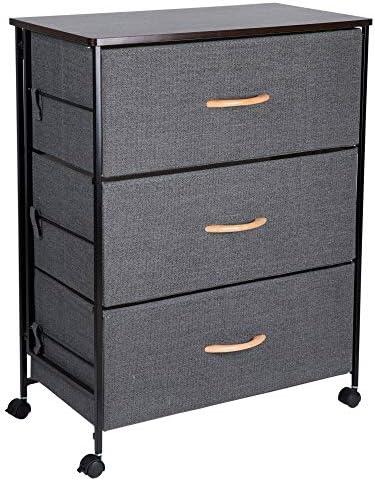 OWNFUN Fabric Storage Cabinet Dresser Organizer