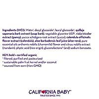 Baño de burbujas para bebés de California: cansado y irritable, 13 oz (paquete de 2)
