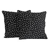 Yuga Home Décor Birdies Cushion Cover 24 X 24 Inches Printed Decorative Pillowcase 2 Pcs