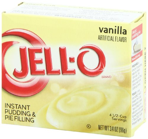 Jell O Instant Pudding And Pie Filling Vanilla 3 4 Ounce