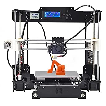 ALUNAR 3D Printer DIY Prusa I3 Kit Mini Self-assembly Desktop FDM 3D Printing Machine with Heated Build Plate SD Card and PLA Filament