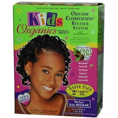 Africa's Best Kids Organics Value Pack Relaxer Kit by Africa's Best