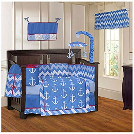 51uCXdq69IL._SS450_ Nautical Crib Bedding and Beach Crib Bedding