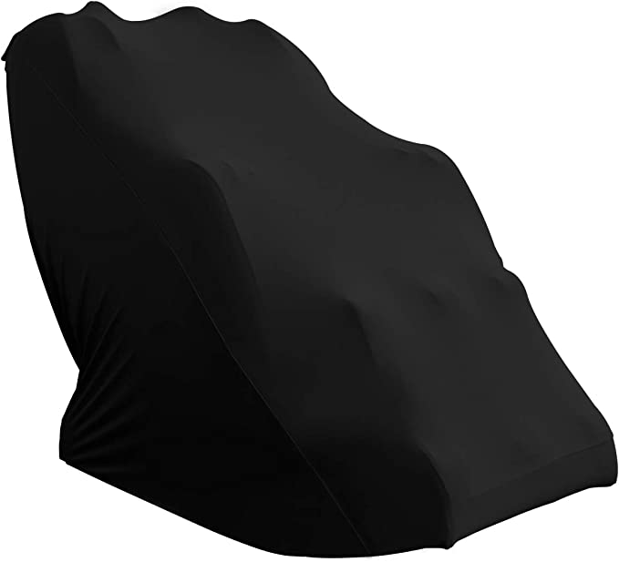 Easy-Going Massage Chair Cover Armchair Slipcovers,Recliner Wing Chair Slipcovers, Furniture Protector for Moving, Dust Cover,Sofa Covers Removable Shield, Buggy Bag, Storage,Machine Washable (Black)