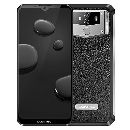 【10000mAh Large Battery】 Unlocked Cell Phone OUKITEL K12 4G Smartphone 6GB RAM 64GB ROM 6.3 Inch FHD+ Screen Dual SIM…