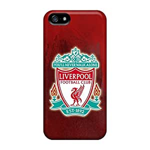 Protector Cell-phone Hard Cover For Iphone 5/5s With Custom Attractive Liverpool Image KevinCormack