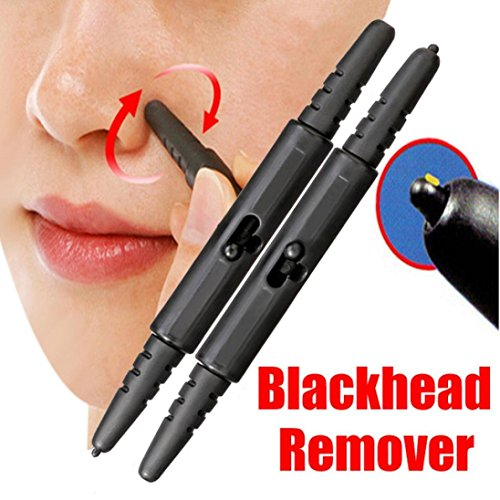DEESEE1/2PC Pen Type Makeup Nose Extractor Stick Blackhead R