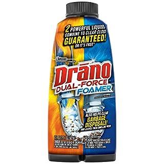 Drano Dual Force Foamer Clog Remover-17 oz.