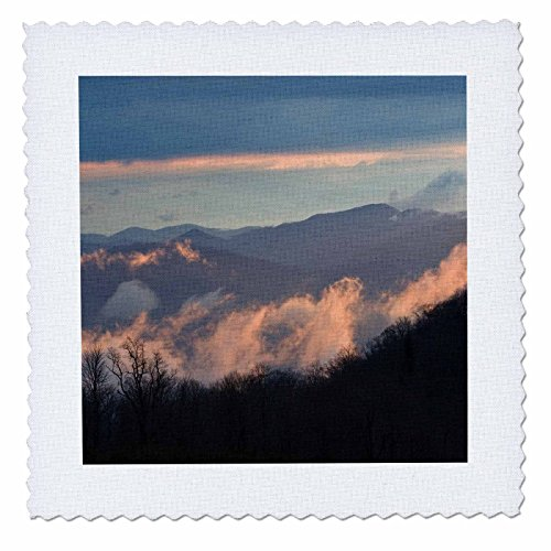 3dRose qs_93199_1 North Carolina, Great Smoky MTNS, Purchase Knob-US34 BJA0019-Jaynes Gallery-Quilt Square, 10 by 10-Inch