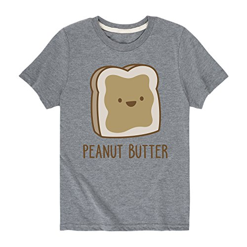 Twins Peanut Butter - Toddler Short Sleeve Tee Athletic Heather