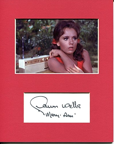 Dawn Wells Gilligan's Island Sexy Mary Ann Star Signed Autograph Photo Display - Island Signed