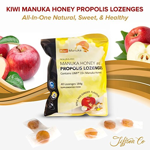 Kiwi Manuka - Manuka Honey and Propolis Lozenges - (Ginger Honey Cough)