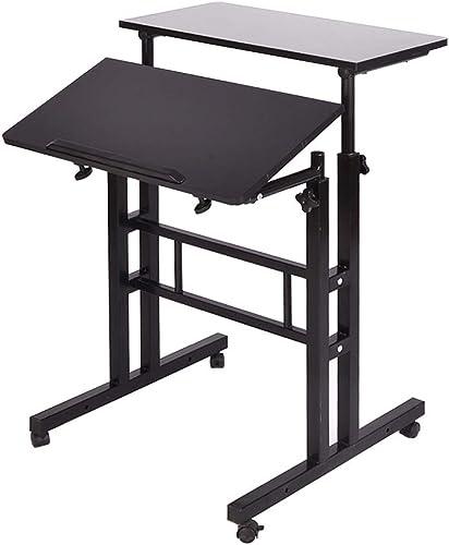 Soges Adjustable Stand Up Desk Computer Desk Workstation Sit-Stand Desktop Standing Desk