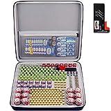 300+ Battery Organizer Storage Box with Battery