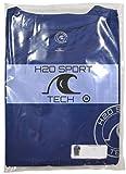 H2O Sport Tech Swim Shirt - Short Sleeve Navy