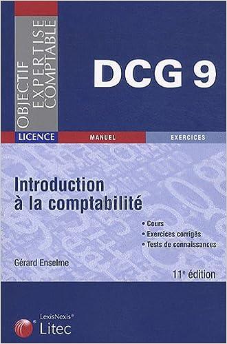 En ligne téléchargement gratuit Introduction à la comptabilité DCG 9 pdf epub