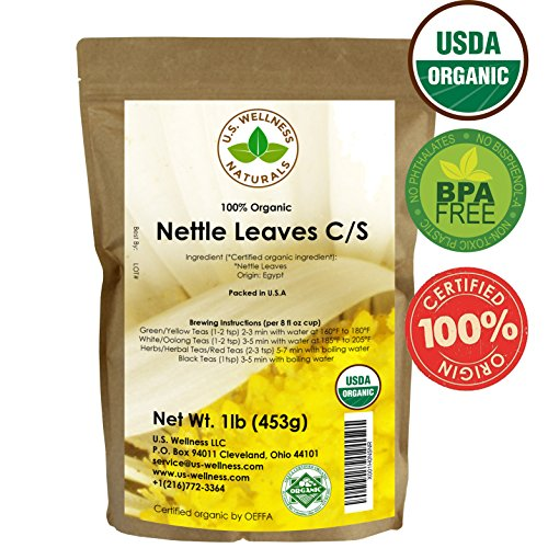 Nettle Tea, 1lb (16Oz) Cut and
