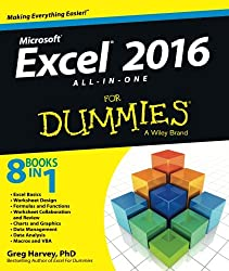 Image of the product Excel® 2016 All in One that is listed on the catalogue brand of Wiley.