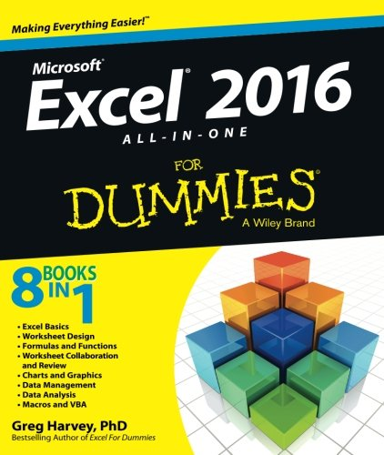 - Excel 2016 All-in-One For Dummies