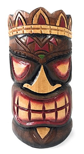 Smiley Tiki Mask (Smiley Tiki Mask 8