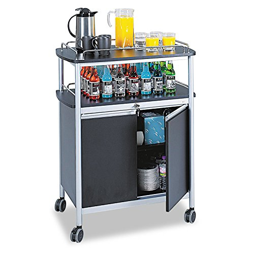 SAF8964BL - Safco Mobile Beverage Cart by Safco