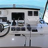 kemimoto Boat Caddy Organizer, Large Marine Cup