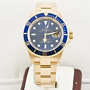Rolex Submariner automatic-self-wind mens Watch 16618LB (Certified Pre-owned)