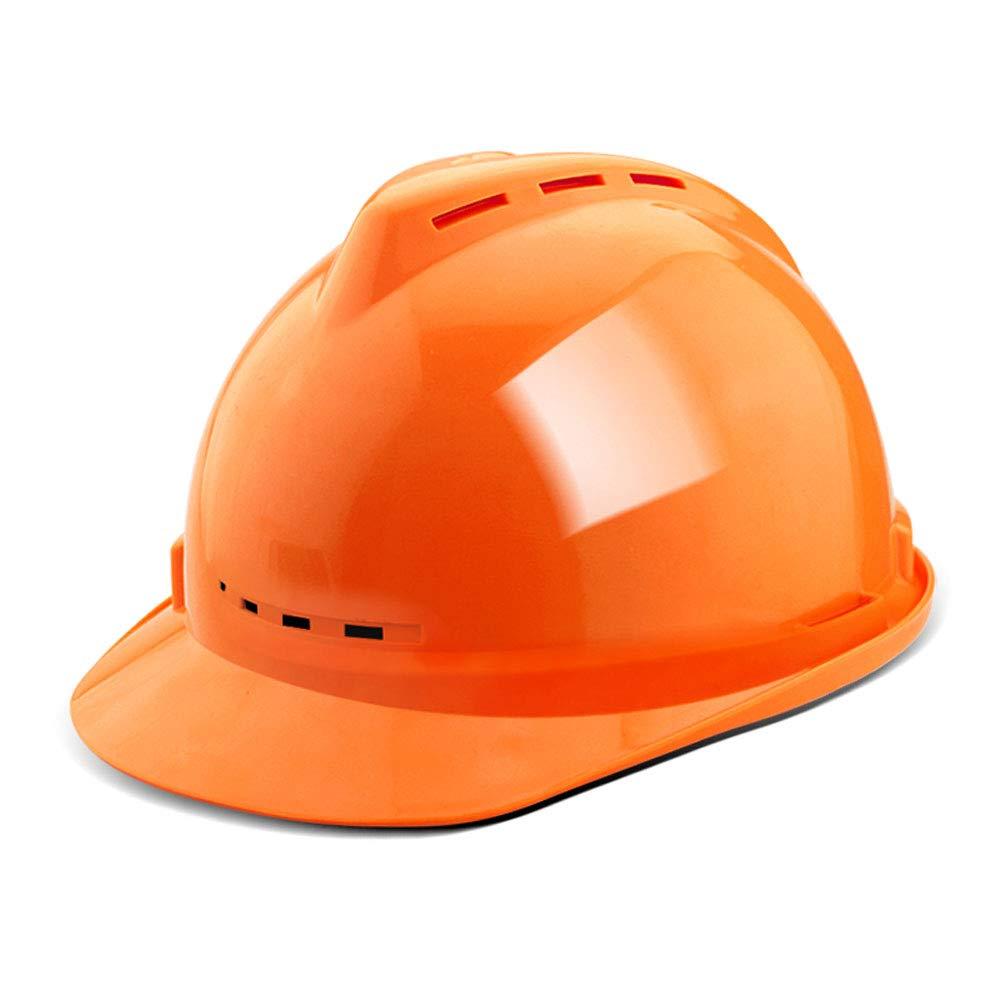 MZ JH& Casco Ajustable con respiraderos fríos, ANSI-obedientes, Equipo de protección Personal para la construcción, mejoras para el hogar y proyectos de ...