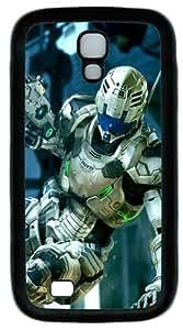 3D Robot Custom Designer Samsung Galaxy S4 Case and Cover - TPU - Black
